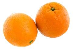 Oranges. Fresh oranges isolated on white background stock images