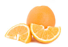 Oranges. Isolated on white background Stock Image