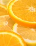 Oranges. Slices of orange Stock Photography
