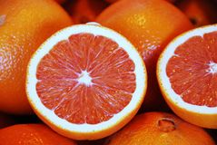 Oranges. Close up of oranges at the market Stock Photos