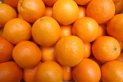 Oranges. On market place Royalty Free Stock Images