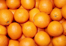 Oranges. Lots and lots of  - texture map Royalty Free Stock Image