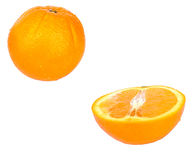 Oranges. Orange half royalty free stock photos