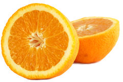 Oranges. Isolated on white background Stock Photo