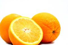 Oranges. Close up image of a freshly sliced orange royalty free stock images