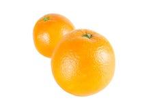 Oranges. On a white background Stock Photos