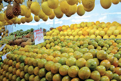 Oranges. Taken on a Brasilian MArket Stock Image