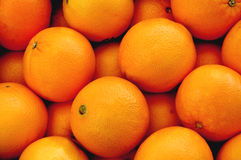 Oranges. Many, many oranges royalty free stock photography