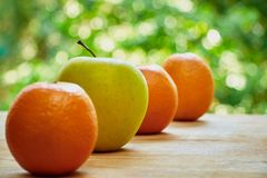 Free Oranges And Apple Royalty Free Stock Photos - 56305578