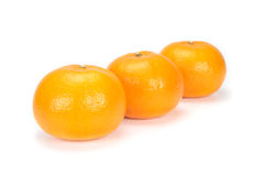 Oranges arranged to symbolize teamwork or unity Royalty Free Stock Images