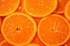 Oranges background Stock Photos