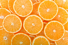 Oranges background. Fruits.  food ingredients Stock Photography