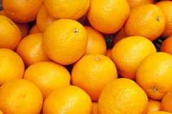 Oranges background Stock Images