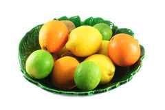 oranges, citrons, limettes Photos libres de droits