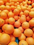 Oranges citrus fruit Stock Image