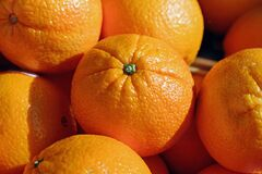 Oranges, Citrus Fruits, Fruit Royalty Free Stock Photos