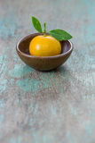 Oranges (Citrus Japonica Thunb) Royalty Free Stock Images