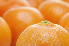 Oranges or clementines Stock Photos