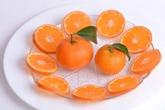 Oranges, clementines and mandarine Royalty Free Stock Image