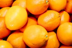 Oranges. Close up of oranges Royalty Free Stock Photography