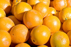 Oranges close up Royalty Free Stock Images