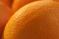 Oranges close-up royalty free stock photography