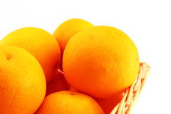 Oranges close-up Royalty Free Stock Photos