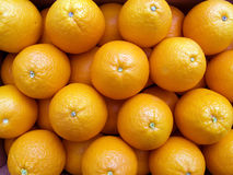 Oranges on a counter Stock Image