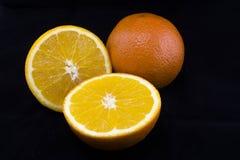 Oranges coupées en tranches Photographie stock libre de droits