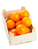 Oranges crate Stock Photos