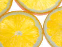 Oranges Cross Section Royalty Free Stock Image