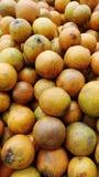 Oranges crues Photographie stock libre de droits