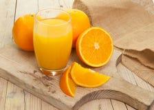 Oranges cut Royalty Free Stock Photo