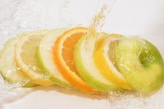 Oranges de citron d'Apple Photo libre de droits