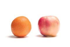 oranges de pommes Photos libres de droits