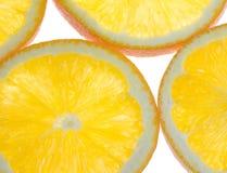 Oranges en coupe Image libre de droits