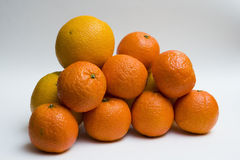 Oranges et clémentines image stock