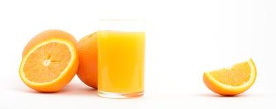 Oranges. Few oranges isolated on white Royalty Free Stock Photography