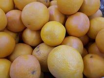 Oranges, fond orange de fruit Photo libre de droits