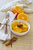 Oranges For Breakfast Stock Photography