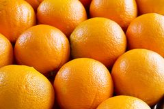 Oranges, Format Filling Royalty Free Stock Photos