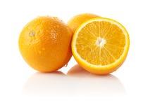 Oranges fraîches Images stock