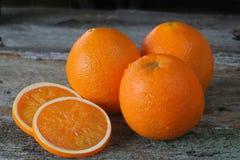 Oranges fraîches Photographie stock libre de droits