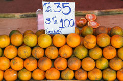 Oranges fruit Stock Photography