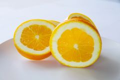 Oranges. This is a fruit rich in vitamins stock photos