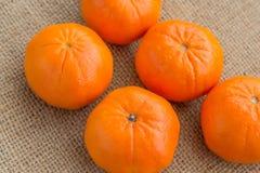 Oranges - fruit - tir aérien Photo libre de droits