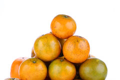 Oranges fruit tropical isolated Stock Photography