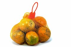 Fresh Oranges Fruit. Oranges Fruit on white background Royalty Free Stock Photo