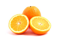 Free Oranges - Full And Halves Royalty Free Stock Images - 18097559
