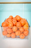 Oranges in a glass Royalty Free Stock Images